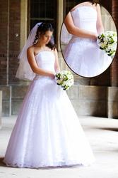 Продам свадебное платье тм Tulipia + болеро к платью,  б/у.