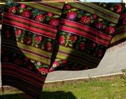 Старинная тканая,  ковровая дорожка