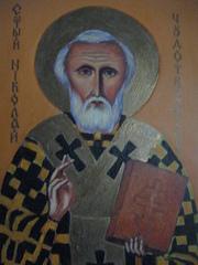 Святой Николай, икона