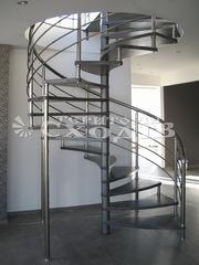 Лестницы,  перила,  ограждения,  козырьки,  навесы,  металлоконструкции