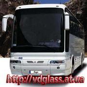 Автостекло триплекс,  лобовое стекло для автобусов Mitsubishi