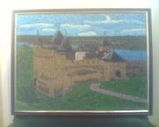 Картина из зёрен!!!КартинаХотинская крепость