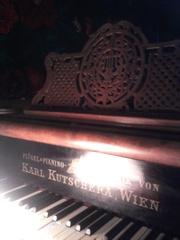 Рояль антикварный 19 век KARL KUTSCHERA  Австрия