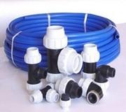 Трубы ПЭ(80, 100) и фитинги для наружного водоснабжения. Черновцы