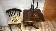 Комплект из венского стула и кофейного столика