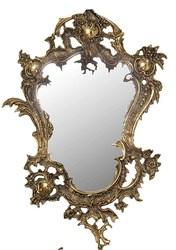 Зеркало бронзовое настенное антикварное