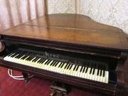 Рояль австрийский Lyra коричневый 19 век