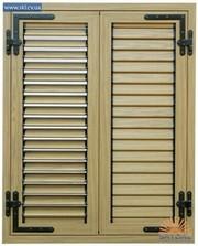 Ставни металлические на окна и двери