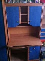 Шкаф Юниор б/у в хорошем состоянии голубого цвета отлично подходит