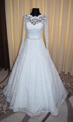 Шикарное свадебное платье от производителя